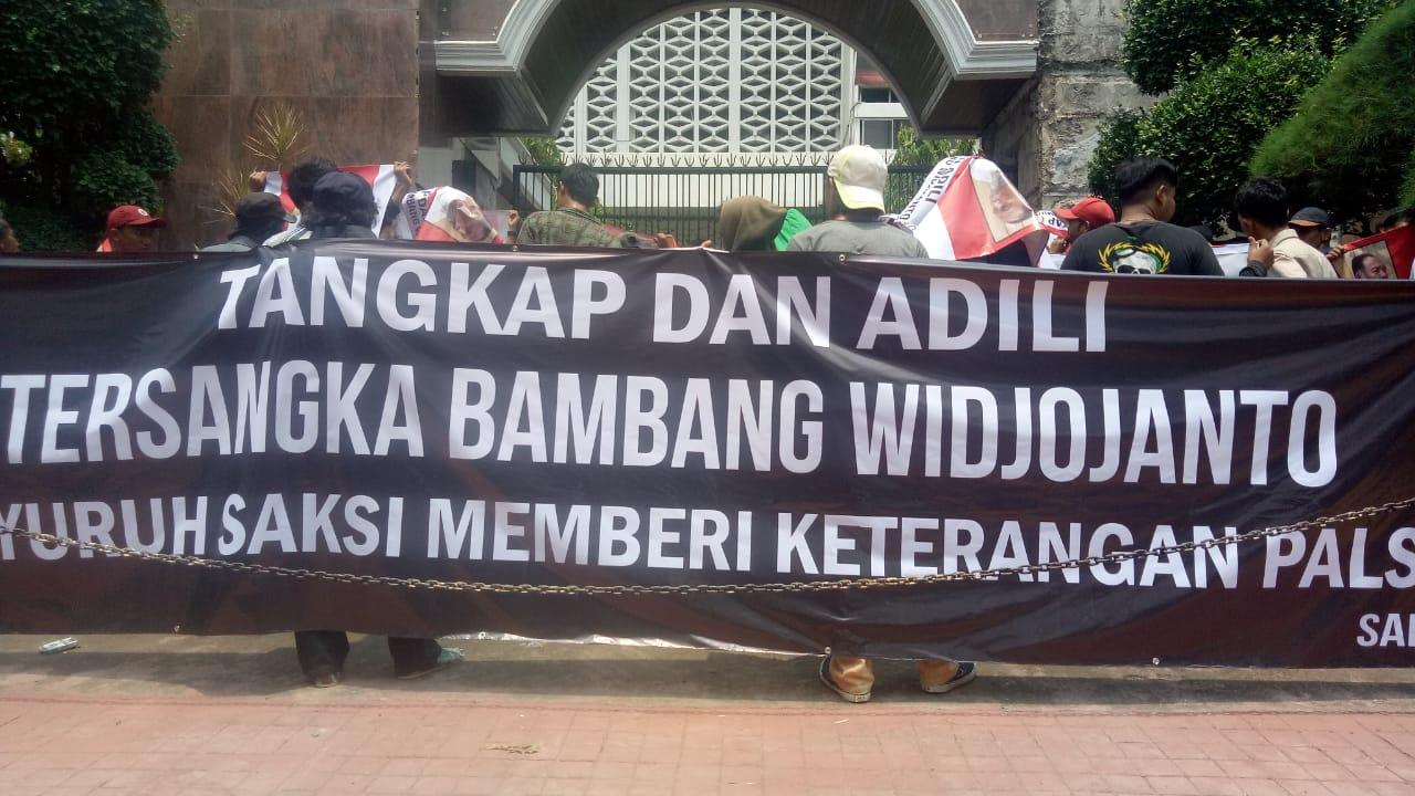Jaksa Agung Diminta Batalkan Deponeering Bambang Widjojanto