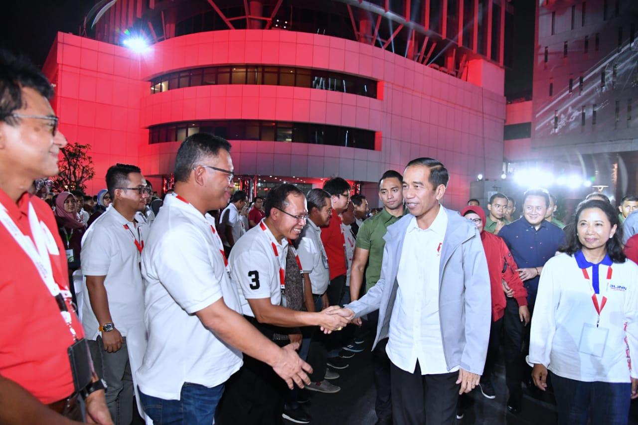 Bertemu Milenial BUMN, Presiden Jokowi: Respons Perubahan Dengan Cepat