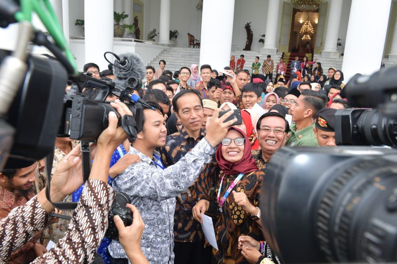 Presiden Apresiasi Peran Aktif Generasi Milenial Promosikan Perdamaian