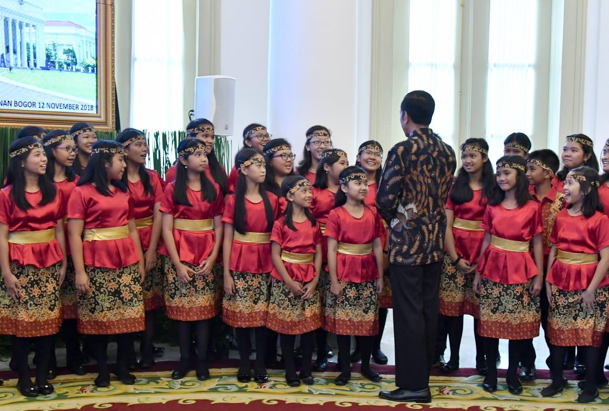 Presiden Jokowi: Dari Paduan Suara Kita Belajar Toleransi