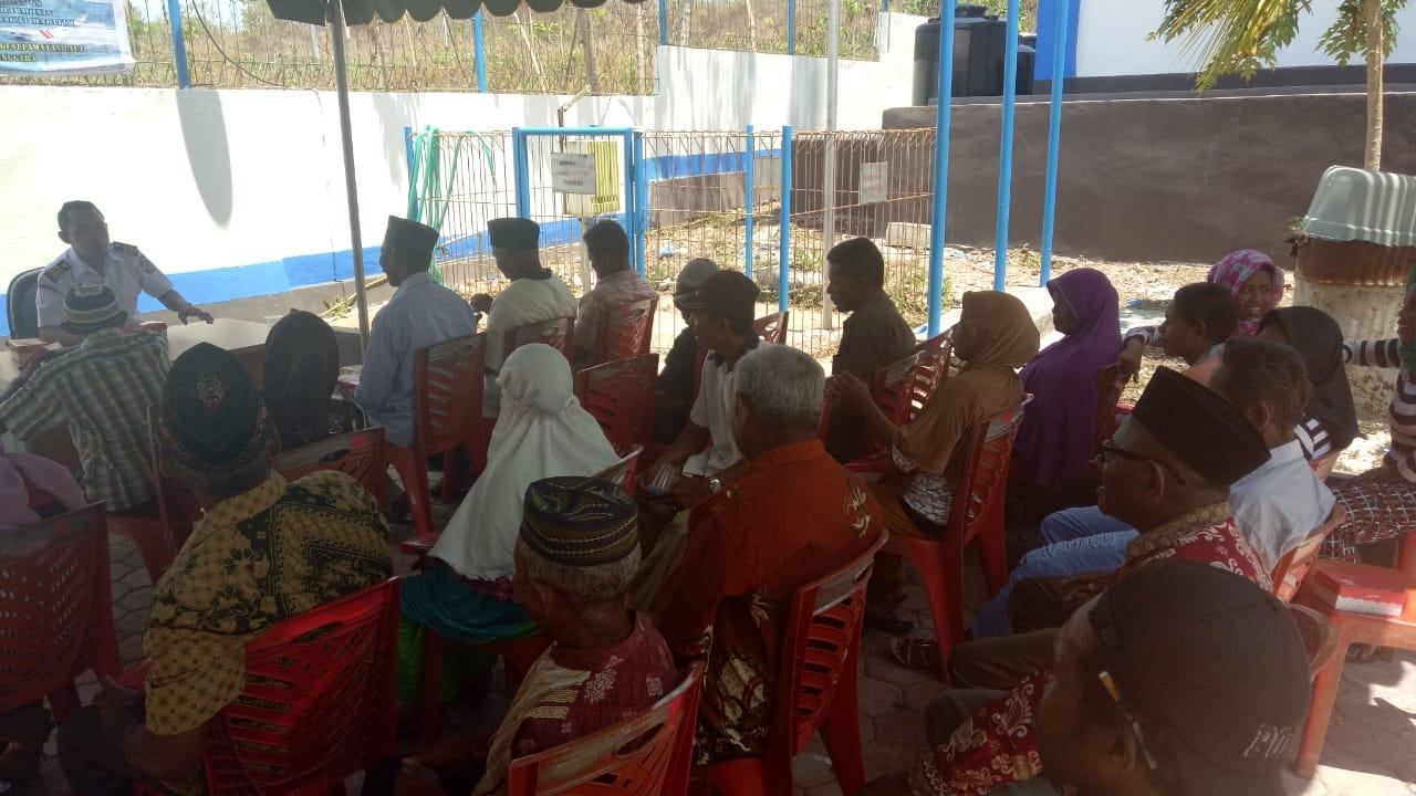 Melalui Bina Kreasi Maritim, Bakamla Sharing Informasi Dengan Masyarakat Tual