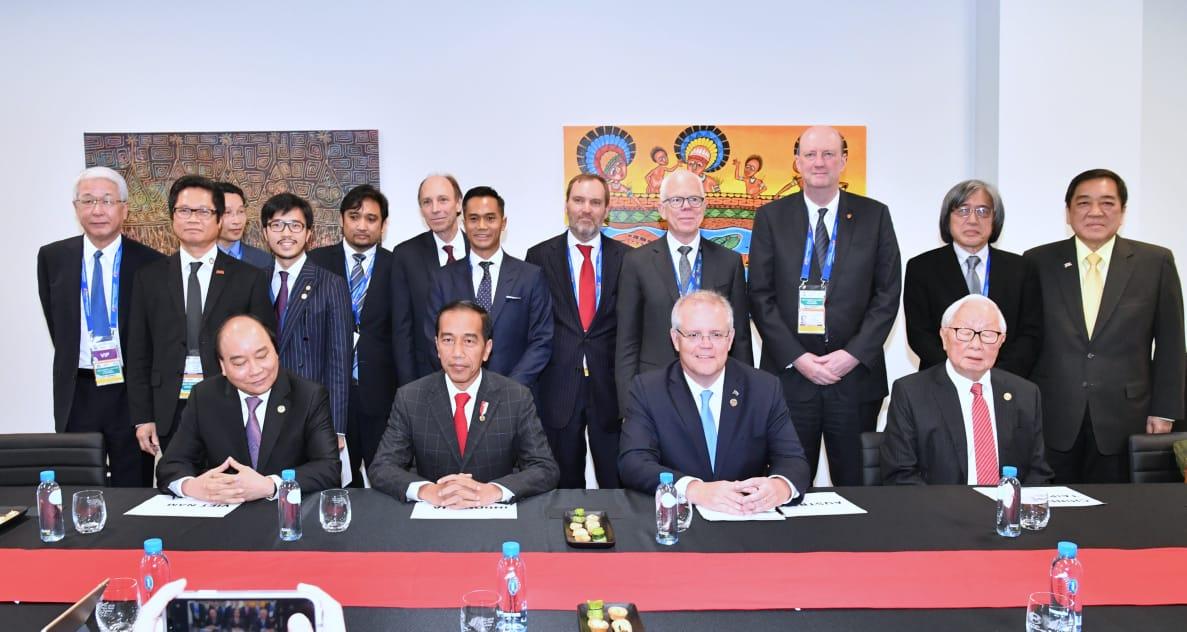 Hari Pertama KTT APEC 2018, Presiden Hadiri Sejumlah Kegiatan