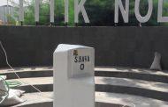Titik Nol Atau Kilometer Nol Surabaya Sejajar Tugu Pahlawan