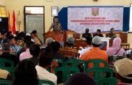 Begini Upaya Ciptakan Pilkades di Kecamatan Leksono Aman, Damai dan Bermartabat
