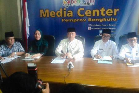 Konferensi Pers Terkait Persiapan Perayaan HUT Emas Provinsi Bengkulu