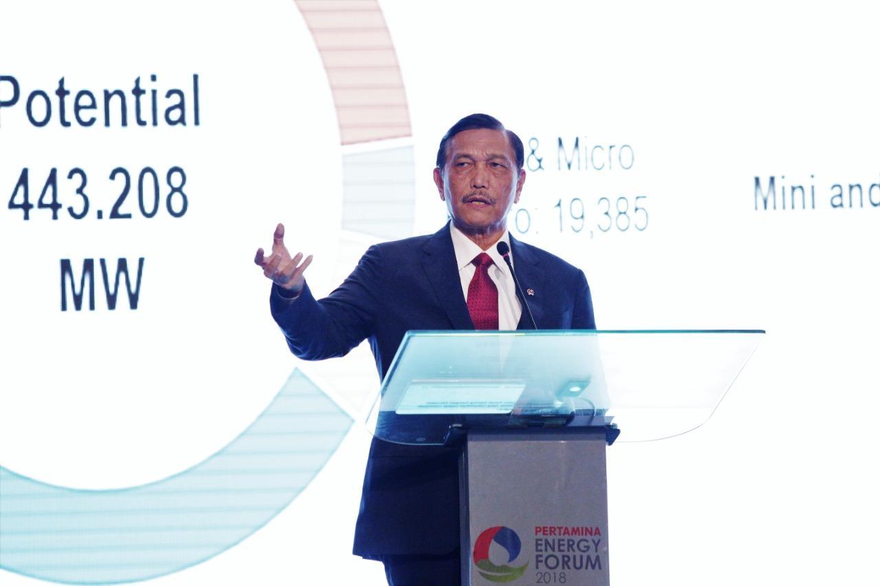 Menko Luhut : Demi Ketahanan dan Keamanan Energi, Indonesia Harus Kembangkan Sumber Energi Terbarukan