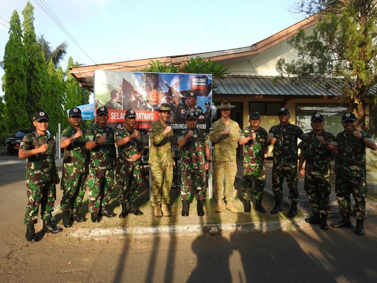 Wakasad Australia Apresiasi Prajurit TNI Menangani Gempa di NTB