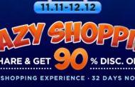 Manjakan Pelanggan Setia, Gogobli Gelar Crazy Shopping Mulai dari Rp 11 Selama 30 Hari Nonstop