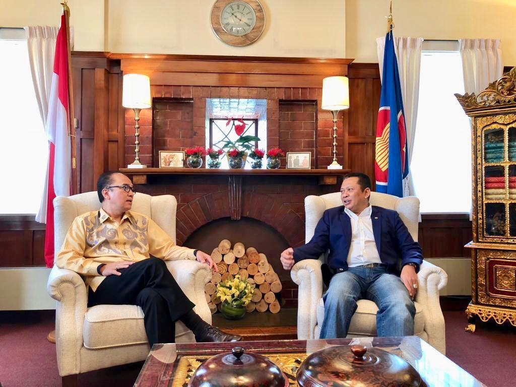 Bamsoet Optimis Indonesia-Selandia Baru Mampu Tingkatkan Hubungan Diplomatik
