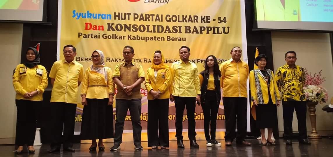 Hadiri Konsolidasi Bappilu Berau, Hetifah Optimis Partai Golkar Menang 2019