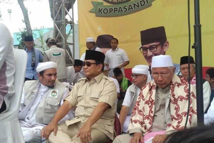 Maju Pilpres 2019, Prabowo Bantah Haus Kekuasaan