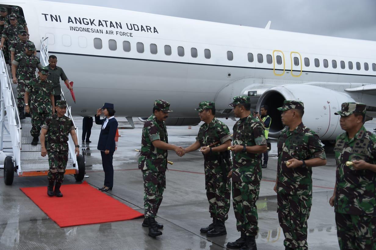 Panglima TNI Kunjungan Kerja ke Jawa Timur