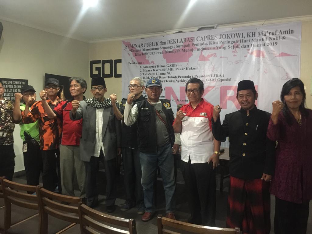 Seminar Publik dan Deklarasi Capres Jokowi – KH.Ma'Ruf Amin