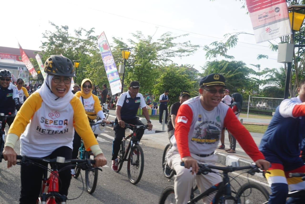 Hetifah: Sepeda Nusantara Dapat Jadi Titik Awal Olahraga Internasional di Berau