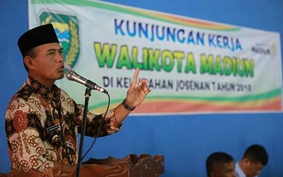 Turba, Walikota Madiun Ingatkan Kondusifitas Tahun Politik