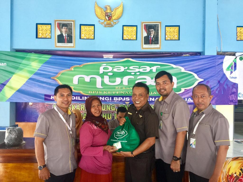 BPJS Ketenagakerjaan Malang Jual 400 Paket Sembako Murah ...