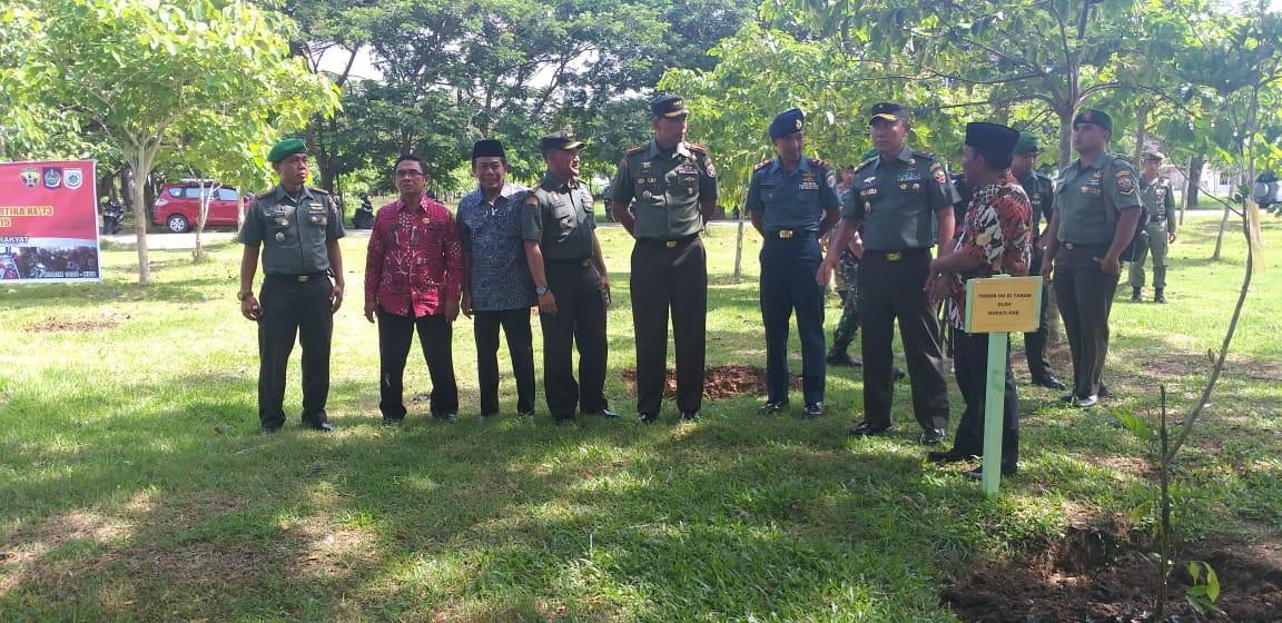 Bakti Sosial Memperingati Hari juang Kartika ke 73 di Sumbawa Barat