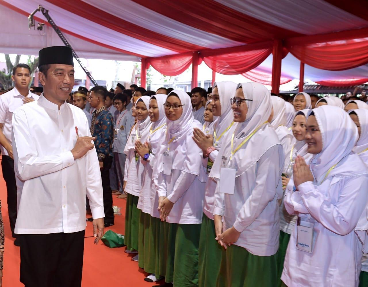 Banyak Lahirkan Tokoh, Presiden Apresiasi Lembaga Pendidikan Muhammadiyah