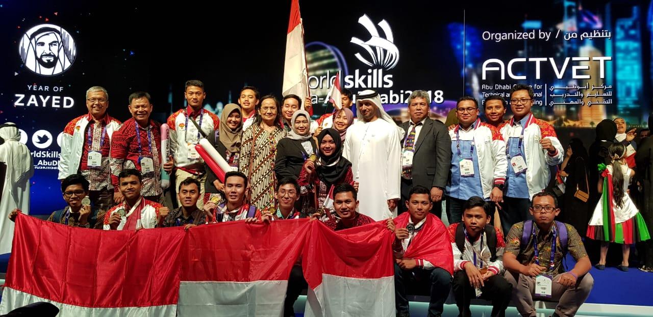 Kontingen Indonesia Borong Enam Medali Emas di Kompetisi WSA