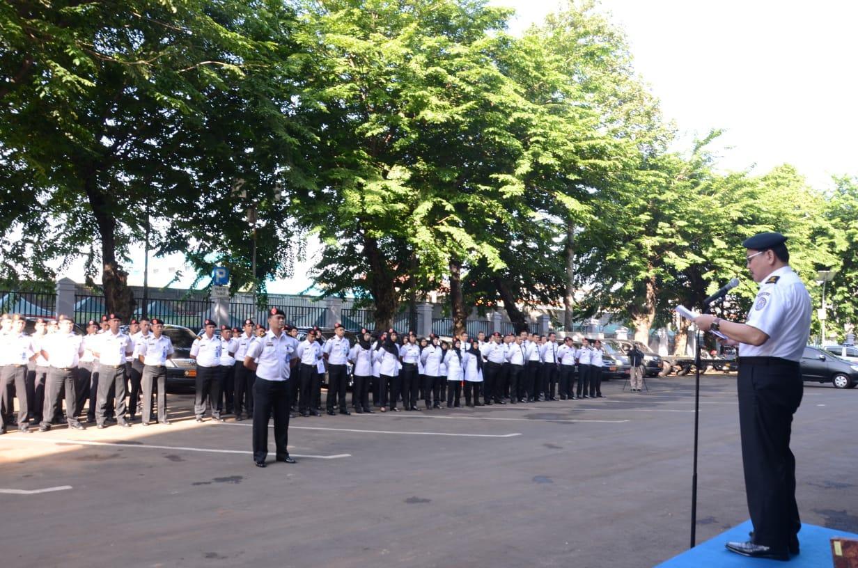Hari Bela Negara di Markas Komando Bakamla