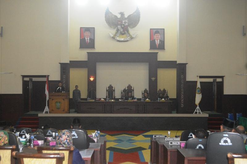 DPRD Sahkan APBD Kepulauan Sula Tahun Anggaran 2019