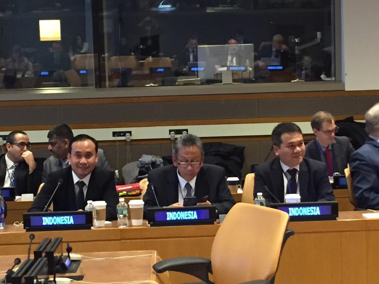 Ketua BPK Hadiri Sidang Tahunan Anggota Panel Pemeriksa Eksternal PBB Ke – 59