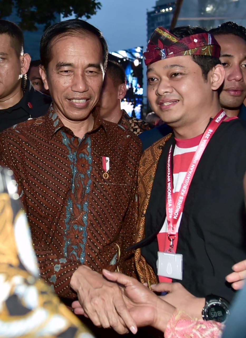 Presiden Ajak Masyarakat Lestarikan Budaya Indonesia di Tengah Perubahan Zaman