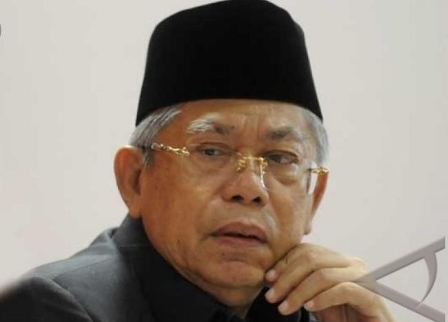 KH Ma'ruf Amin Ucapkan Belasungkawa kepada Keluarga Korban Tsunami Banten dan Lampung