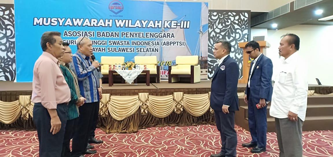 Mohammad Ridwan Kembali Pimpin AB-PTSI Sulsel  2018-2022