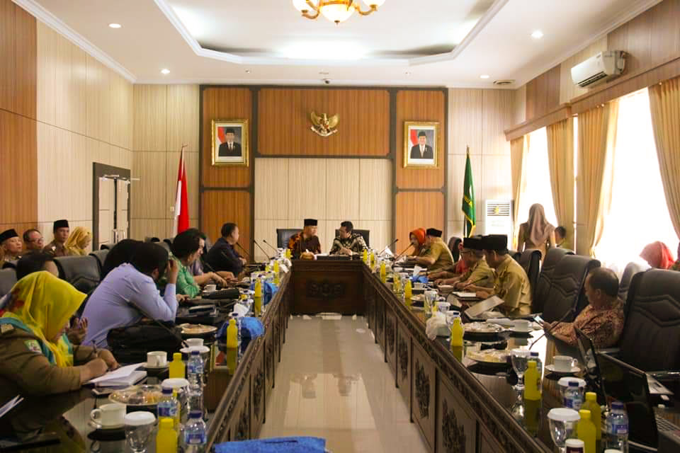 Pemprov Bengkulu Gelar Rapat Rencana Kerja Pengembangan Kopi Bengkulu untuk Program Kerja Tahun 2019