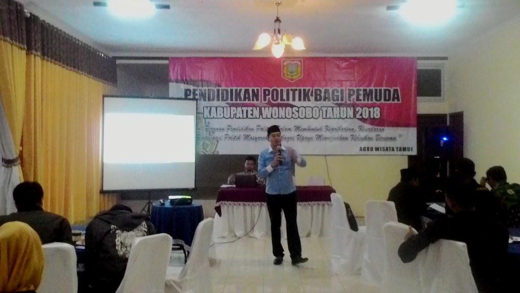 Para Pemuda Kader Parpol di Wonosobo Peroleh Pendidikan Politik