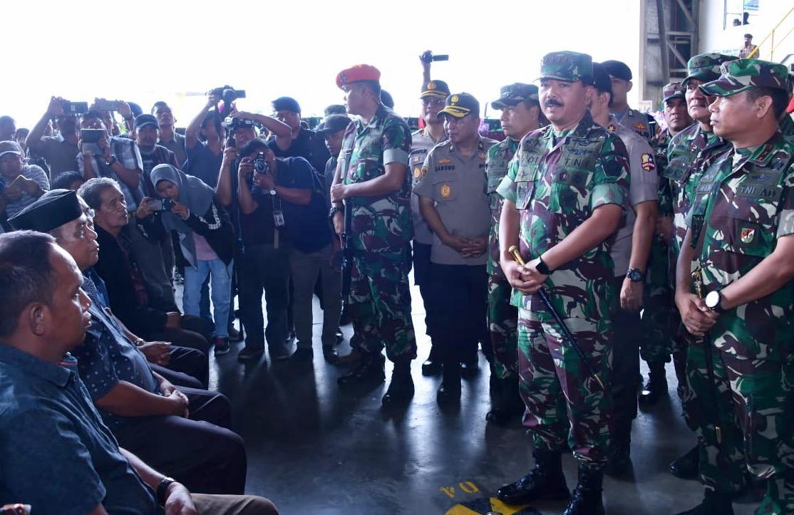 Panglima TNI :  Korban Penembakan KKB adalah Pahlawan Pembangunan Papua