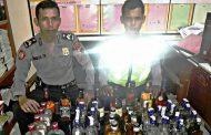 Patroli Cipkon di Wonosobo Sita Puluhan Botol Berbagai Jenis Miras