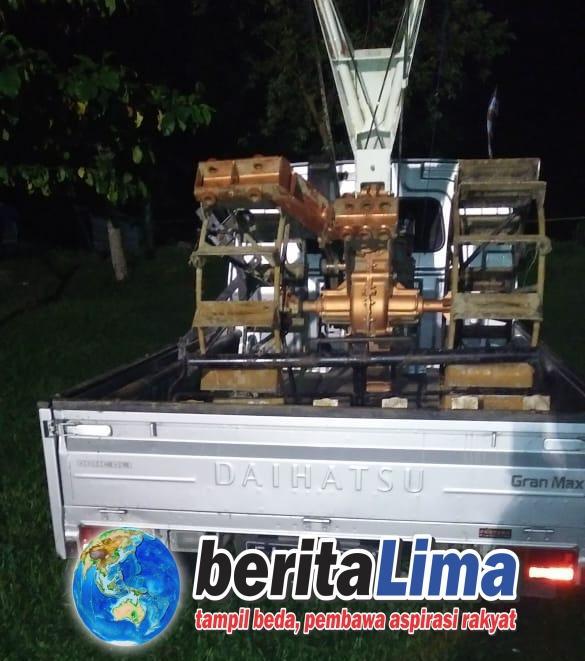 Polres KSB Mengungkap Kasus Pencurian Hand Traktor Di