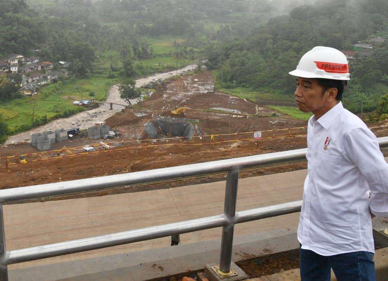 Presiden Jokowi: Bendungan Ciawi dan Sukamahi untuk Atasi Banjir di Jakarta