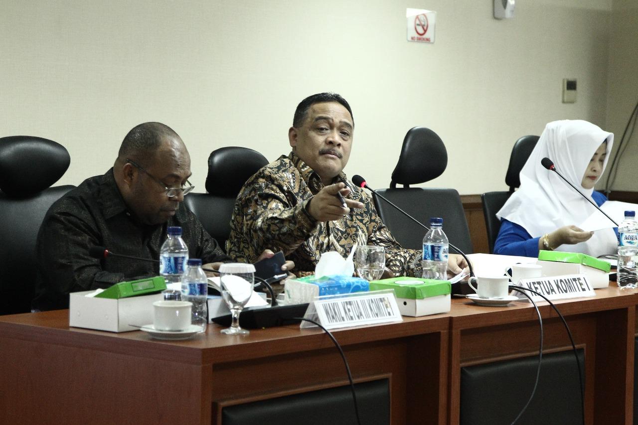 DPD RI: Transmigrasi Simpan Potensi Konfliek Pemerintah Dengan Masyarakat