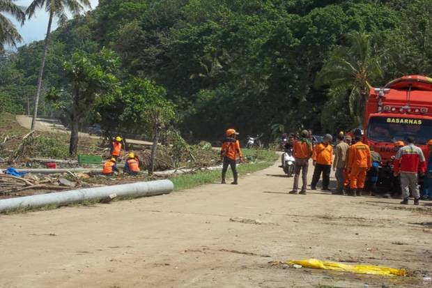 429 Orang Meninggal Akibat Tsunami Selat Sunda