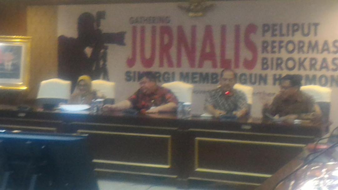 Wartawan Diharapkan Sinergis Dengan Kemenpan RB