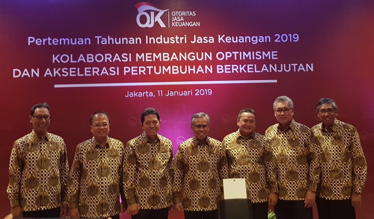 OJK: Data Pertumbuhan Sektor Jasa Keuangan Tahun 2018 Positif
