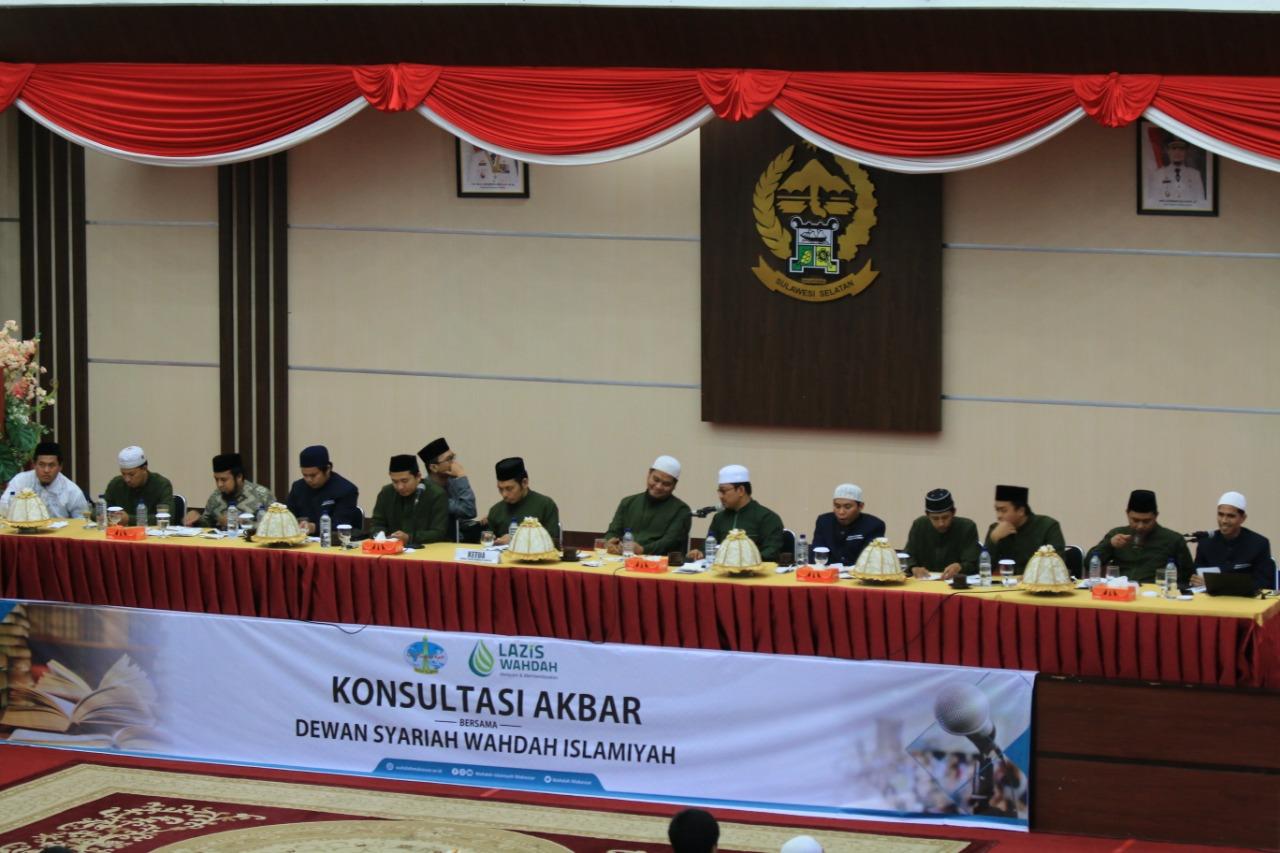 Konsultasi Akbar Wahdah Islamiyah Hadirkan 13 Dewan Syariah