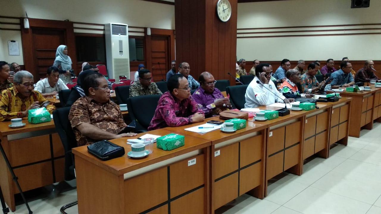 Sekda Prov PB Bersama Ketua Forsesdasi Pinta Tinjau SKB UU Korupsi