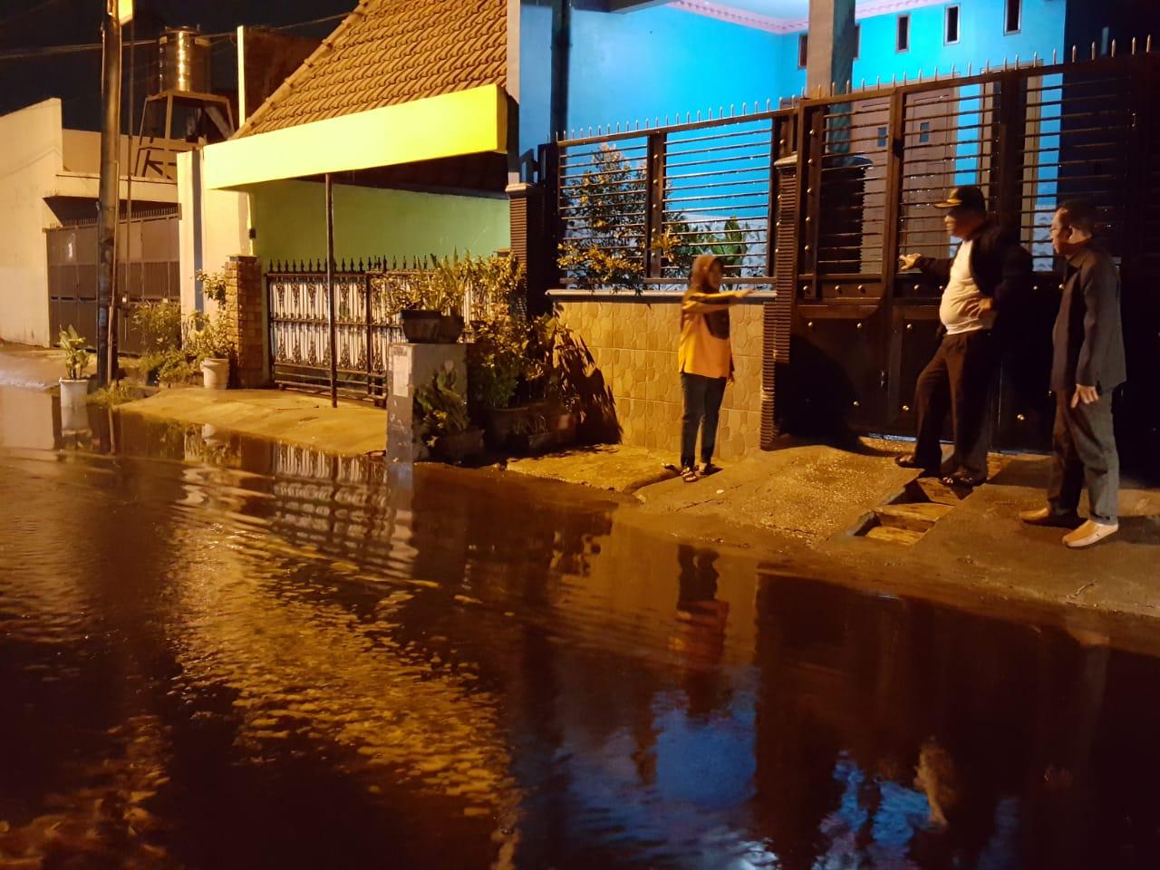 Hujan Deras, Sejumlah Wilayah Sidoarjo Tergenang Air