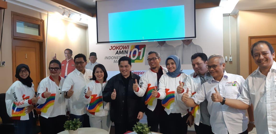 Erick Thohir Ajak Warga Waspada dan Bergerak Melawan Hoax yang berpola Jelang Pilpres 2019