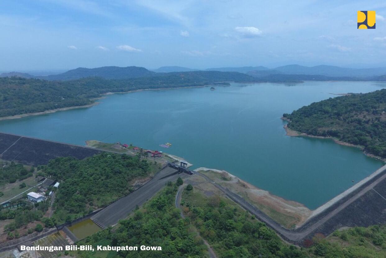 Kementerian PUPR Terus Pantau Tinggi Muka Air Bendungan Bili-Bili, Sulawesi Selatan