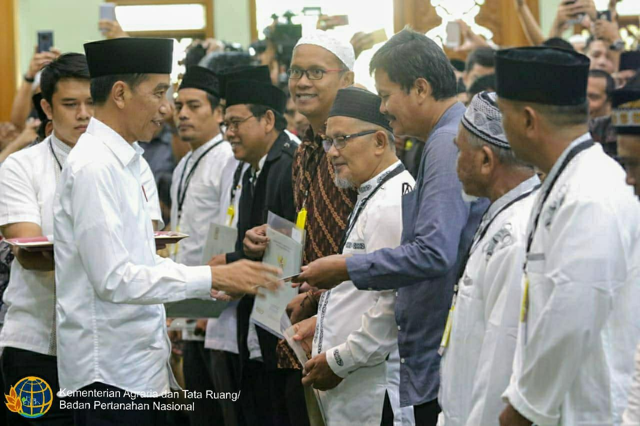 Akhir penantian Masjid di Bekasi yang Sejak Tahun 1986 Belum Bersertipikat