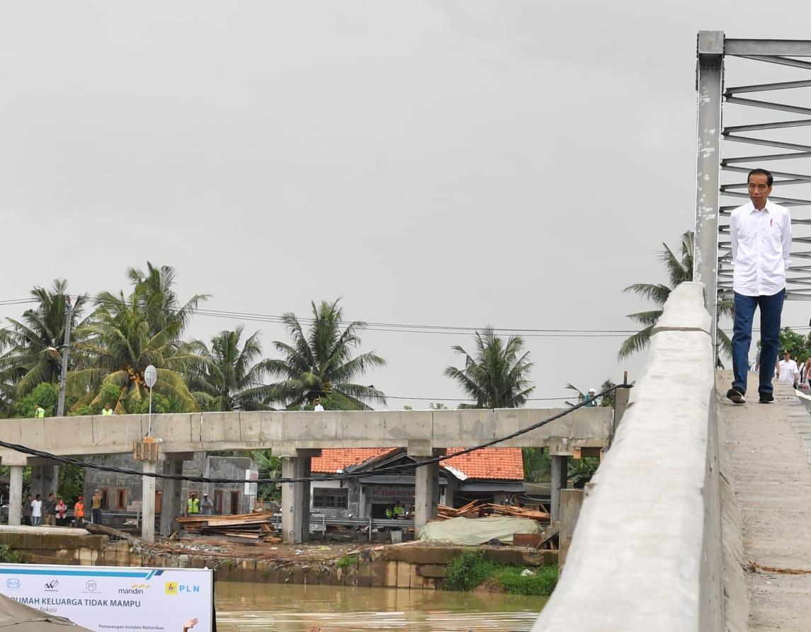 Muara Gembong Kini Miliki Jembatan Antardesa untuk Perlancar Akses dan Produksi Udang