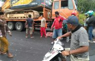 Seruduk Truk Fuso, Pengendara Sepeda Motor Meninggal Dunia di Sampang