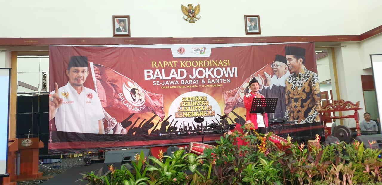 Rakornas Balad Jokowi Berlangsung Meriah
