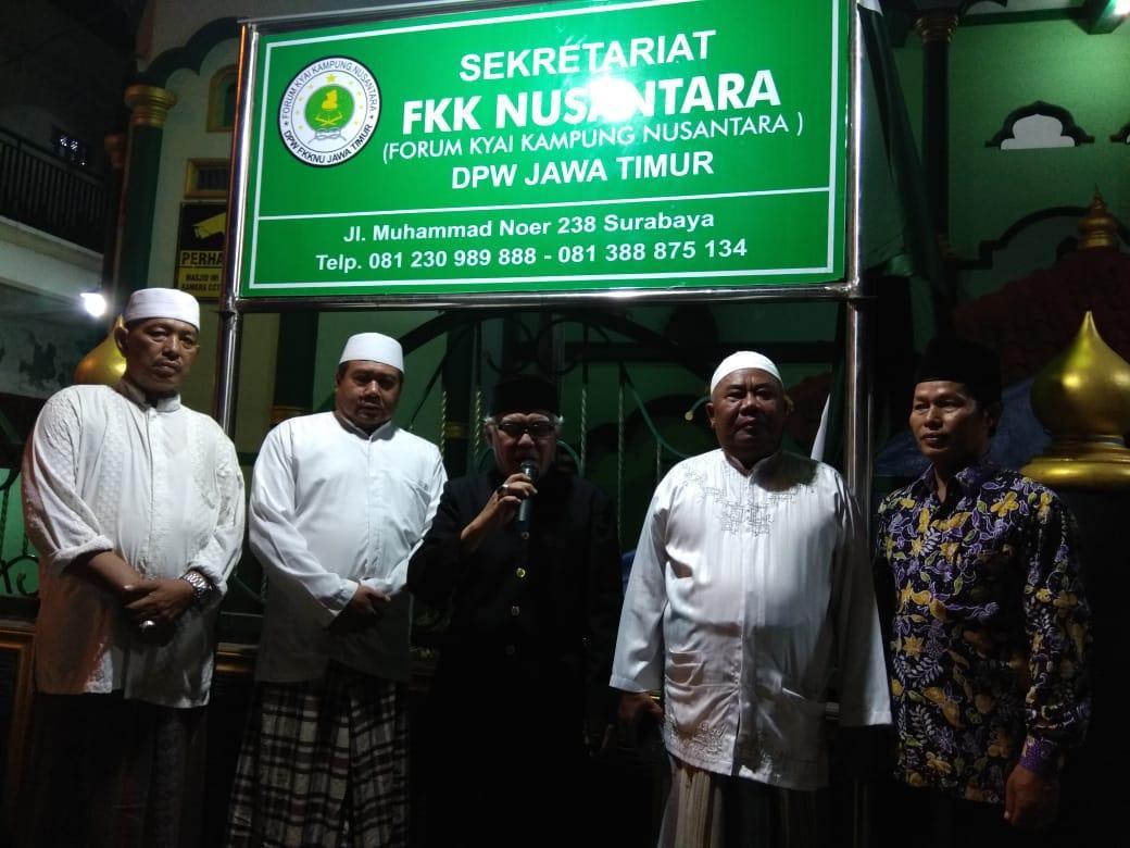 Seketariat FKK Nusantara Jatim dan Surabaya Diresmikan