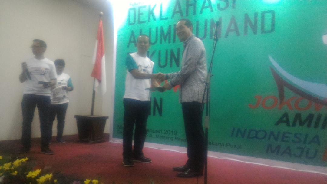 Alumni Universitas Andalas Dukung Jokowi – Ma'ruf Amin